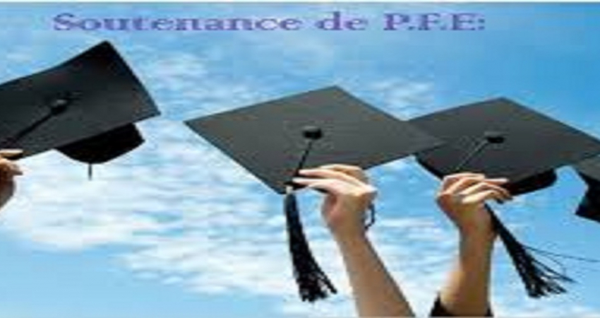 Planning des soutenances de PFE (Session Octobre)